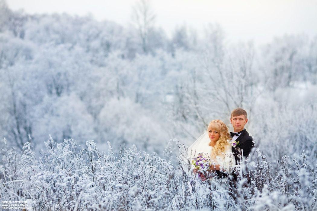 И зимой можно сделать красивые кадры.