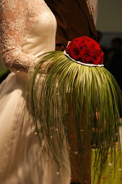 Beispiel: Der Strauß für Ihren großen Tag, Foto: Sandra's Blütenzauber.