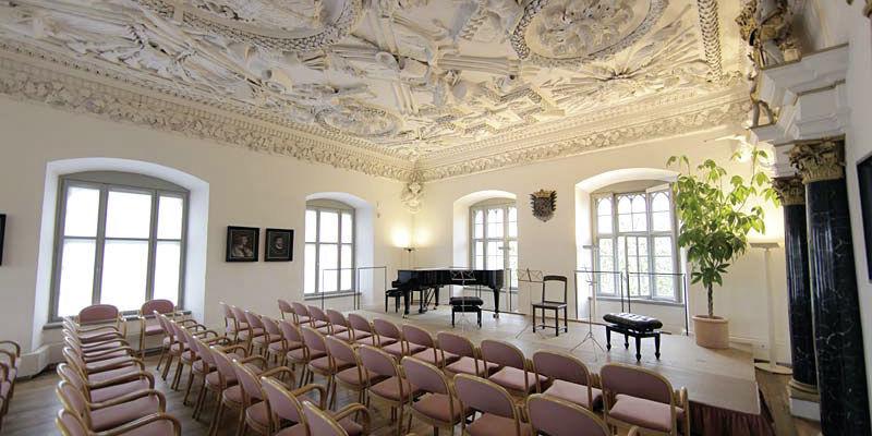 Beispiel: Festsaal, Foto: Schloss Achberg.