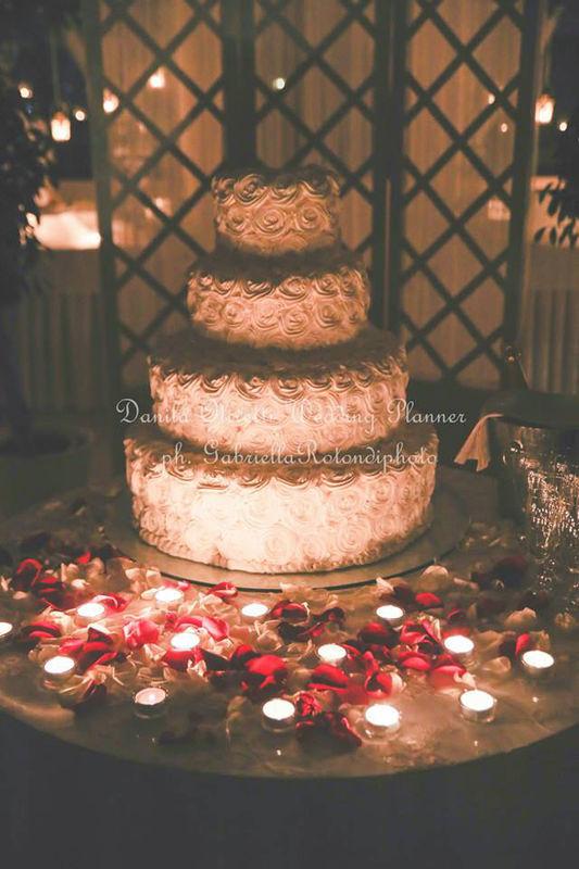Danila Olivetti - winter wedding - torta nuziale
