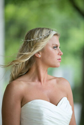 Beispiel: Portrait der Braut, Foto: Michaela Nichole Photography.