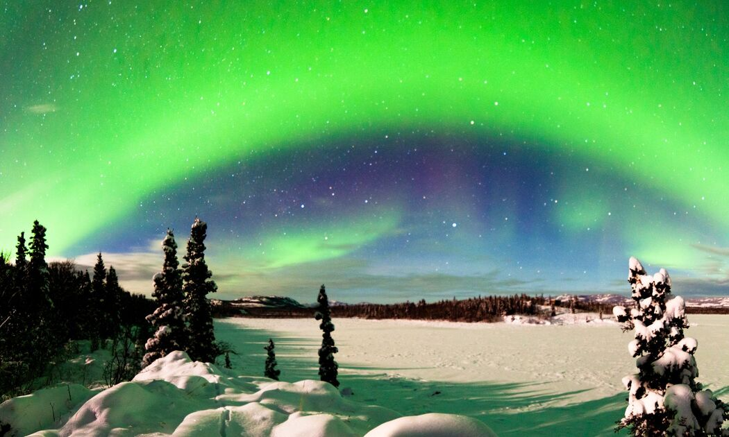 Alaska  - Aurora Boreale-