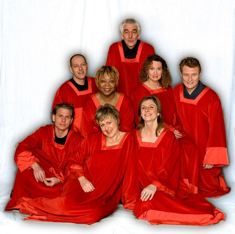 Beispiel: Das Gospelteam, Foto: Gospel meets Vienna.