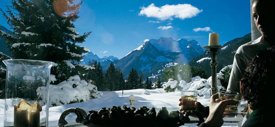 Beispiel: Bergpanoramal, Foto: Gstaad Palace.