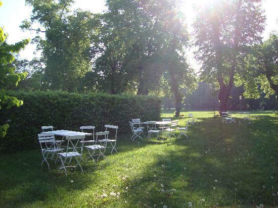 Foto: Gartenterrasse