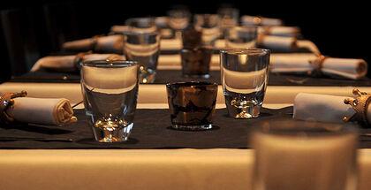 Beispiel: Tischdekoration, Foto: Magellan.