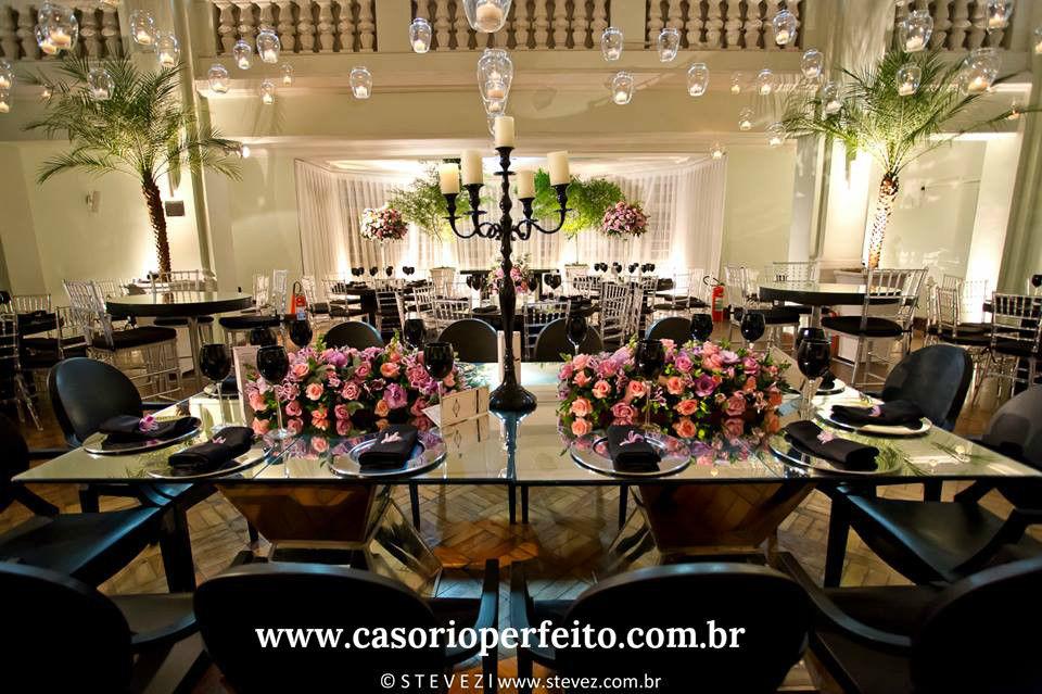 Casório Perfeito  - Decoração de Eventos - Clube Botafogo