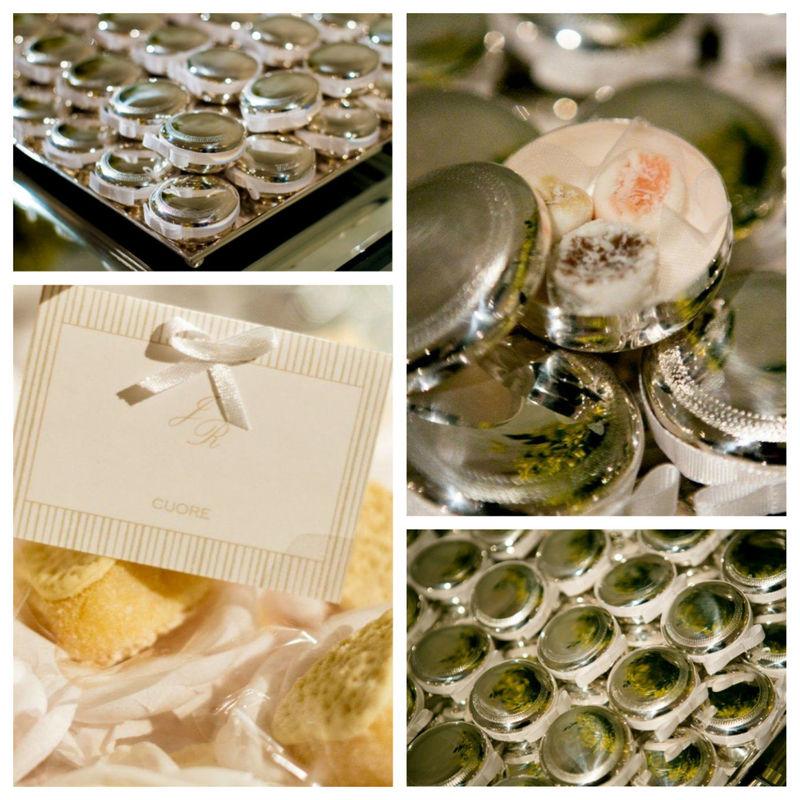 Enchanter | Projetos Especiais, Caixinha em prata com bala de coco e legenda para doces