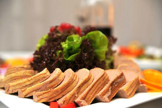 Beispiel: Serviervorschlag, Foto: Teepott-Restaurant.
