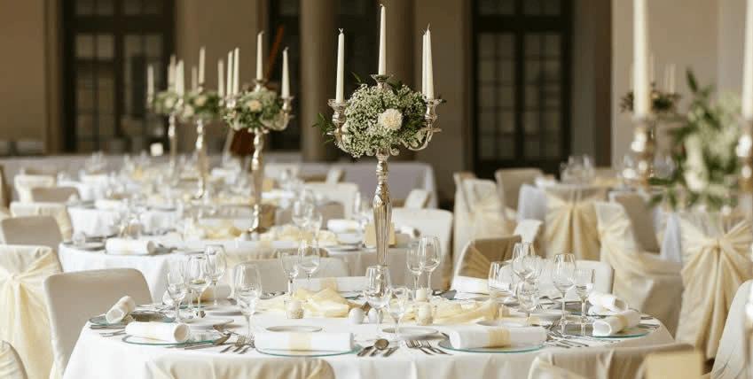 Beispiel: Dekoration Ihrer Hochzeit, Foto: La Deko.
