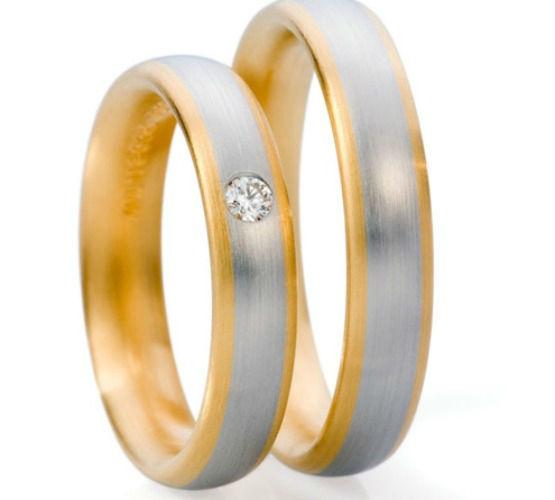 Beispiel: Silberring mit Goldrand und Diamantbesatz, Foto: Seilnacht.