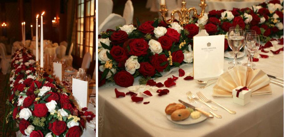 Beispiel: Blumen, Foto: Avorio Hochzeitsorganisation.