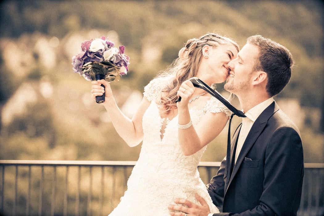 kreative Hochzeitsfotos