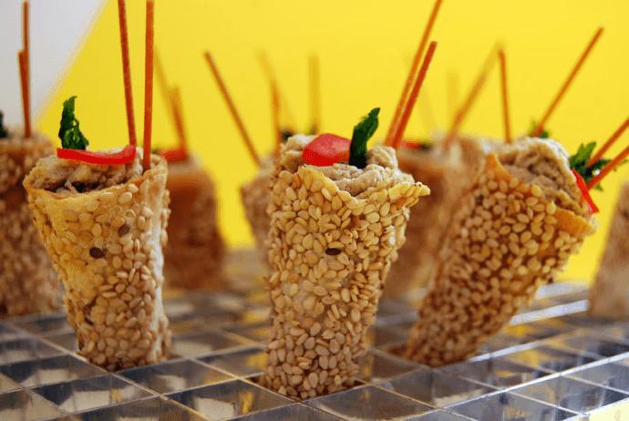Platillos para bodas en Banquetes Kunz
