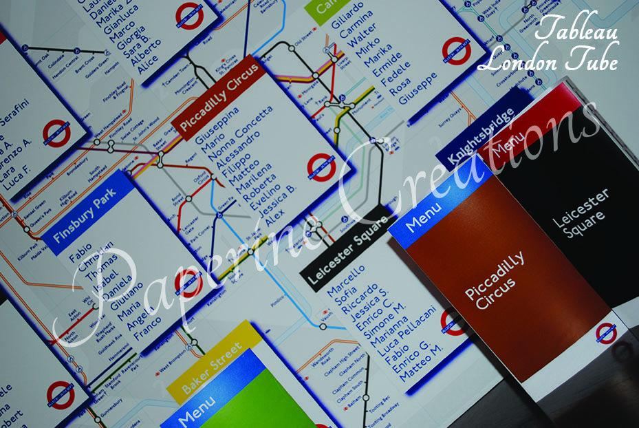 Tableau London Tube