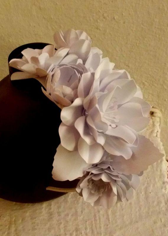 LaCasadiTania: Cerchietto per sposa