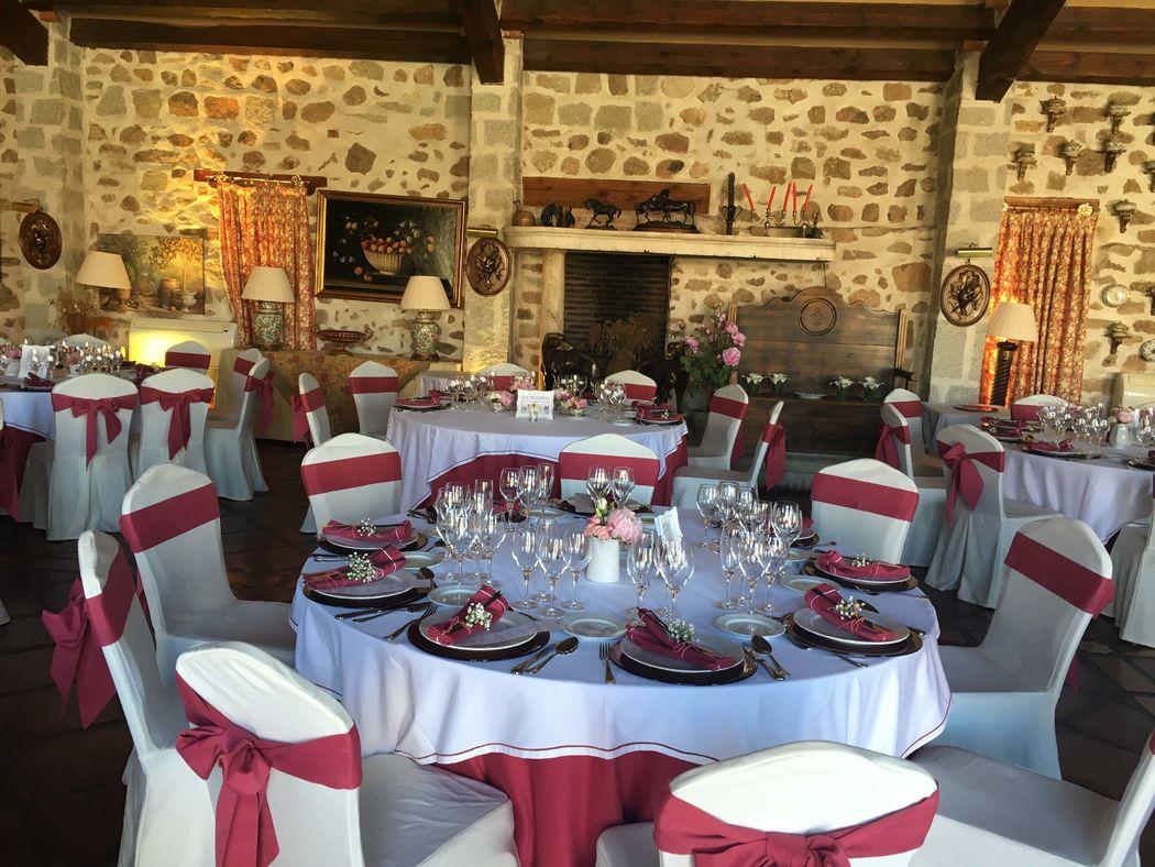 Salón de bodas.