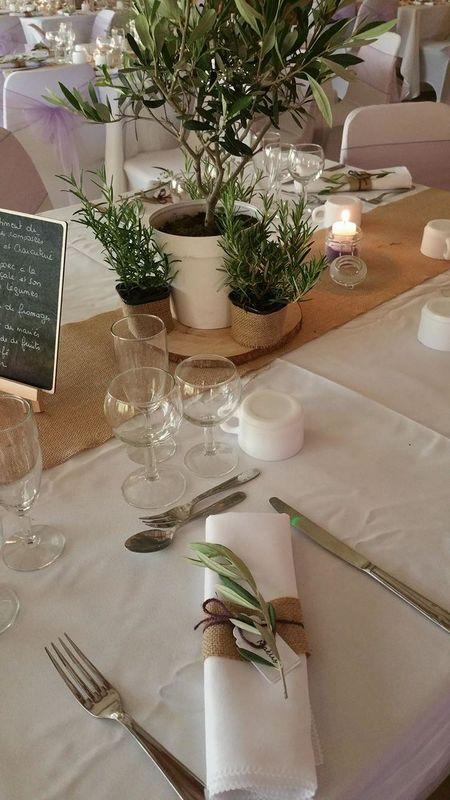Ambiance Provence sur un mariage de Juin organisé et orchestré par Mélo dit d'amour