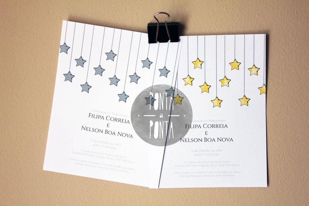 Convite F&N (3/3) | 1 lado | rectangular