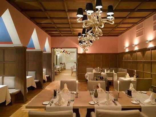 Beispiel: Restaurant, Foto: Waldhotel Stuttgart.