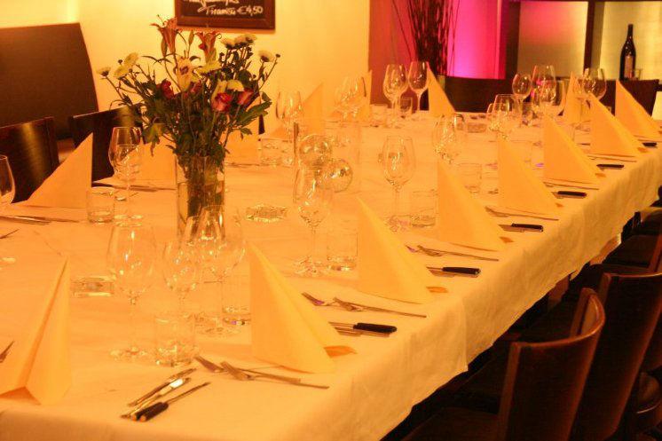 Beispiel: Tafel - Tischdekoration, Foto: Lindenthal by Schneiders.