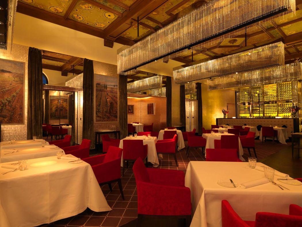Beispiel: The Restaurant, Foto The Dolder Grand.