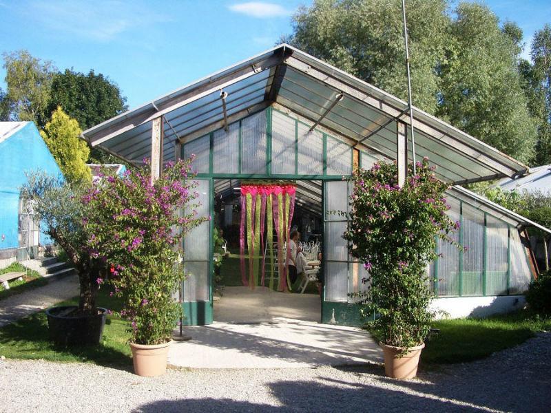Beispiel: Eingang Grashaus - Ihre Hochzeitslocation, Foto: Botanikum.