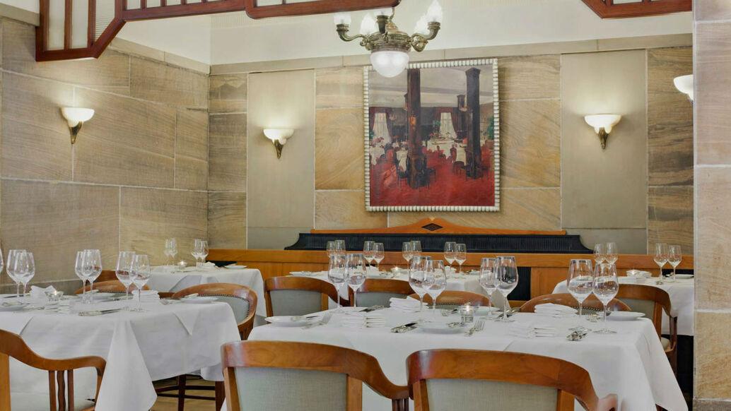 Beispiel: Restaurant Brasserie, Foto: Le Méridien Gran Hotel Nürnberg.