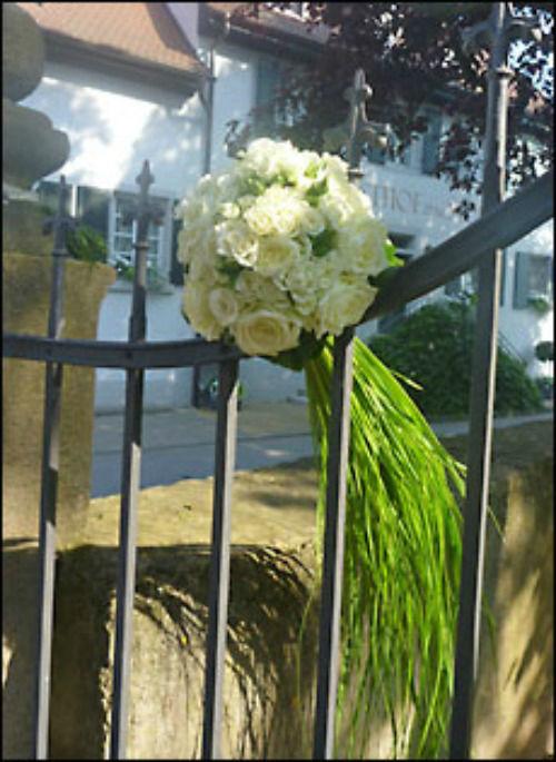 Beispiel: Individuelle Hochzeitsdekoration, Foto: Les Fleurs Vagabondes.