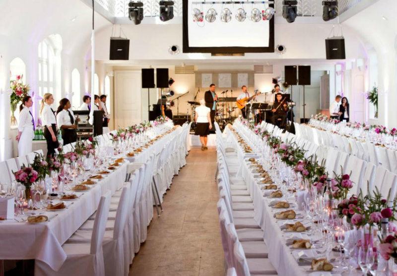Beispiel: Hochzeitstafel, Foto: Schloss Gartrop.
