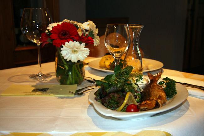 Beispiel: Festliche Gerichte, Foto: Landgasthof Berg.