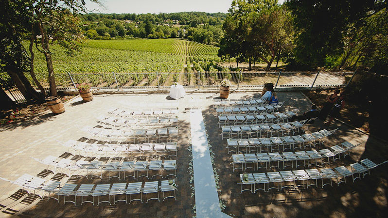 Wedding planner Bordeaux Jarretiere in the Air