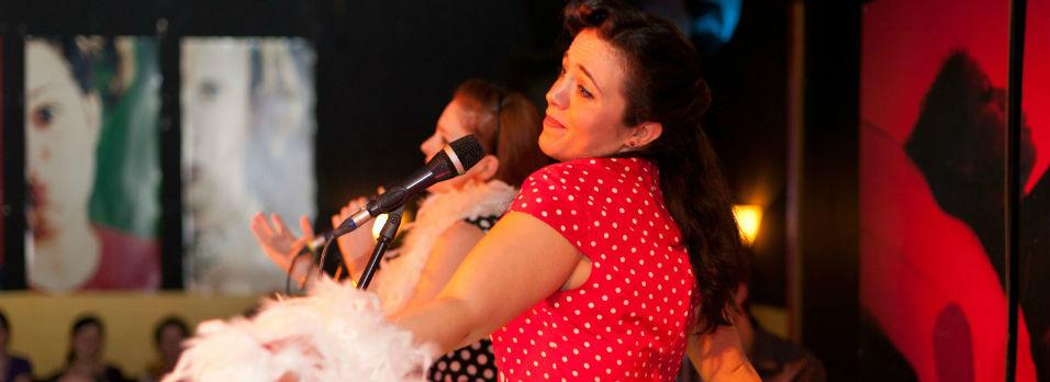 Beispiel: Live Gesang, Foto: Frauenzimmer deluxe.