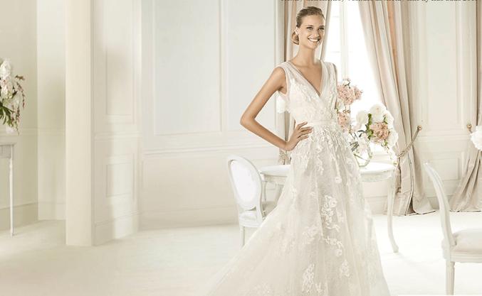 Vestido de novia - Foto Elie Saab/Pronovias
