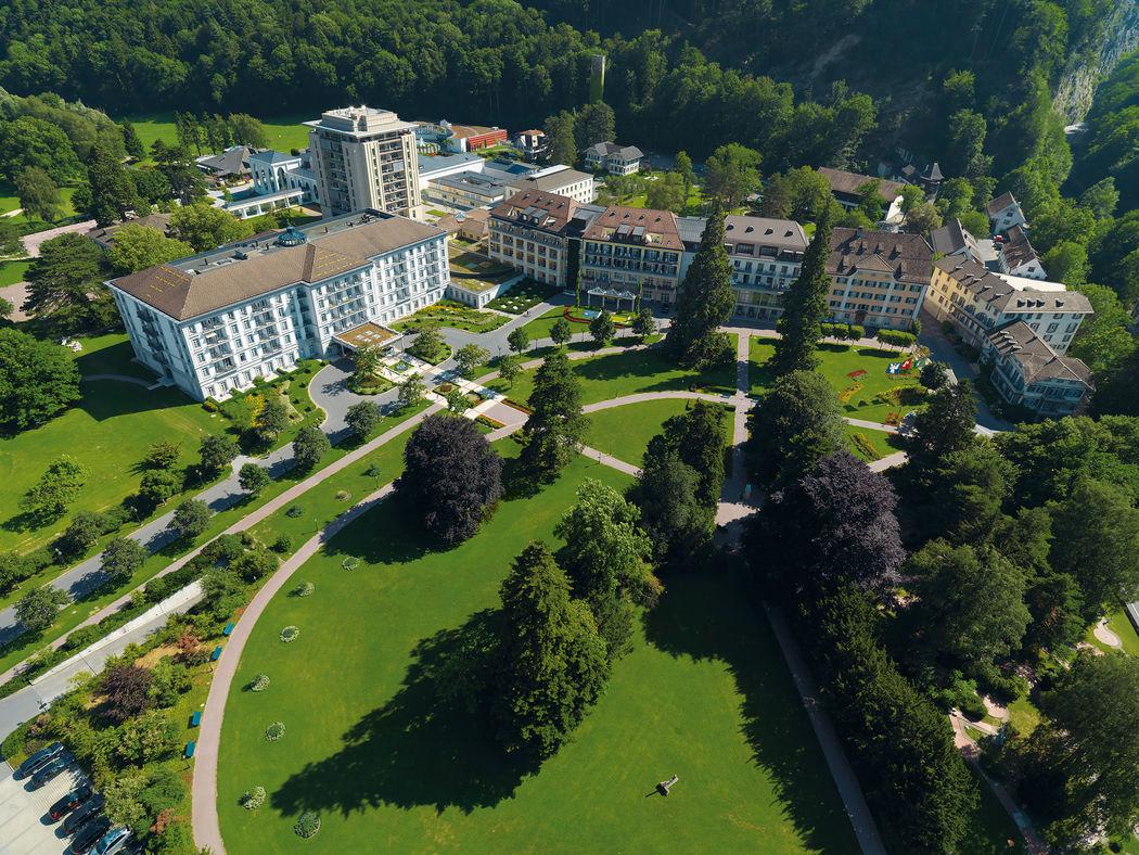 Aussenansicht Grand Resort Bad Ragaz