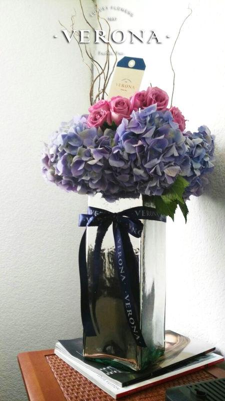 Colori (hortecias y rosas)