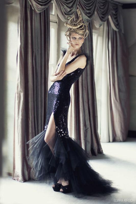 Beispiel: Modische Kleider, Foto: Elvira Kirsch.