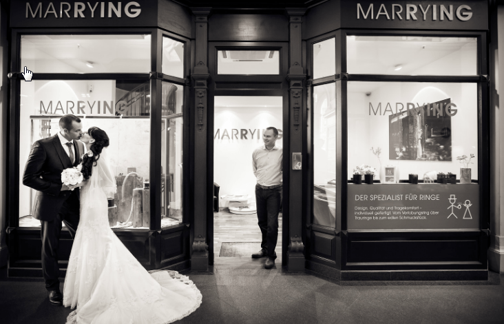 Beispiel: Kreative Hochzeitsfotografie, Foto Kirill Brusilovsky Photodesign.