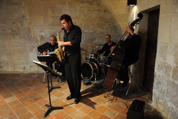Quartet jazz cocktail
