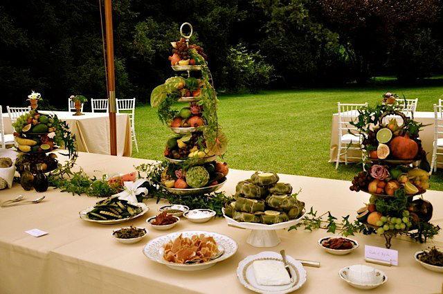 Beispiel: Dekorative Gestaltung Ihrer Feier, Foto: Tip Top Table Catering.