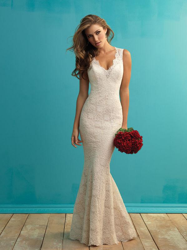 Marca: Allure Bridals. Modelo: 9253.
