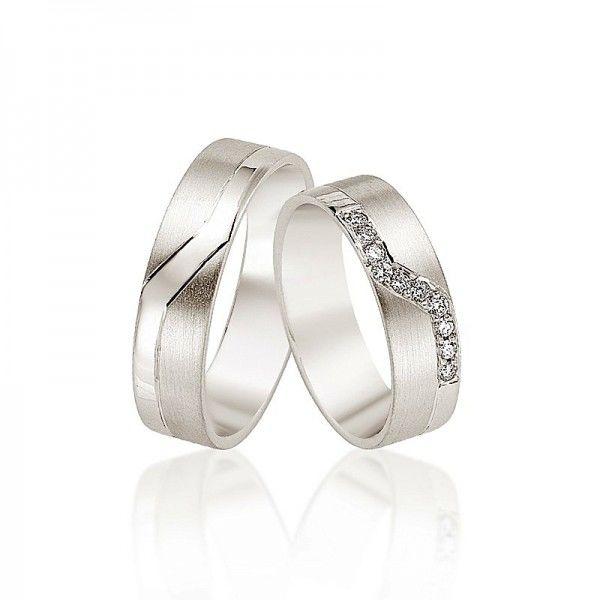 Beispiel: Trauringe - Silber, Foto: Juwelier Goldfee.