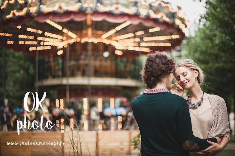 Mariage à Paris. Credit photo : OK Photo, photographe de mariage Nantes. www.photodumariage.fr