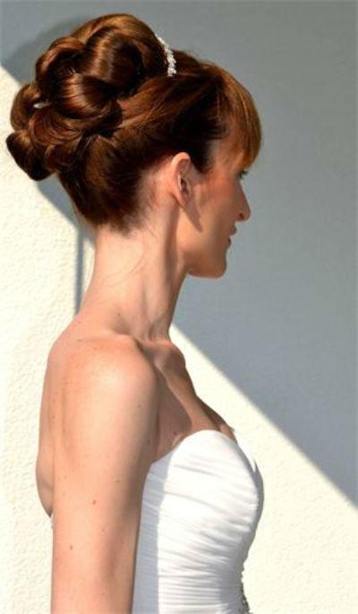 Beispiel: Die Frisur für den perfekten Tag, Foto: Anjas Homecut.
