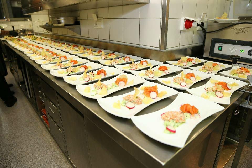 Beispiel: Vorbereitete Speisen, Foto: MS-Catering.