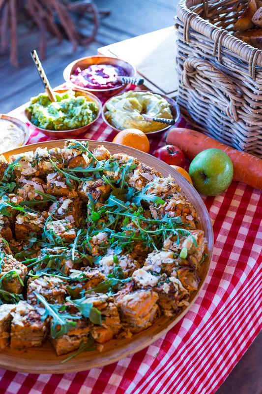 Een buffet of summer BBQ naar keuze