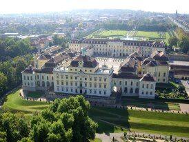 Beispiel: Luftaufnahme, Foto: Schloss Ludwigsburg.