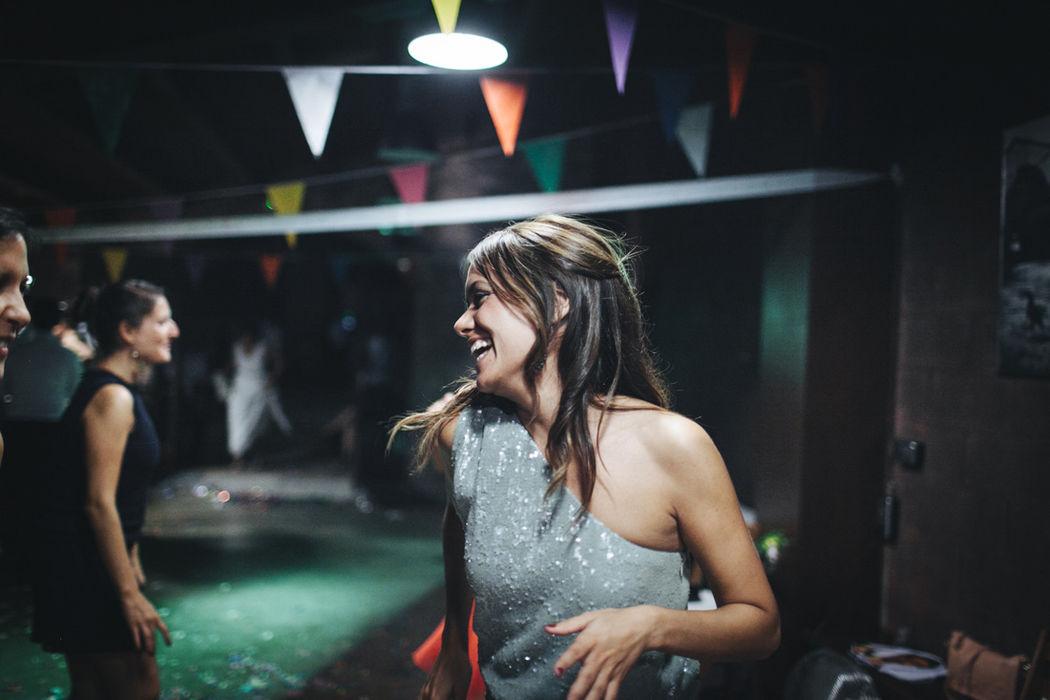 Momentos en el baile.