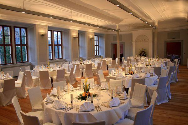 Beispiel: Hochzeitsfeier, Foto: Schloss Ettersburg.