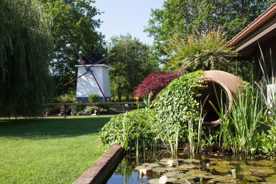Moulin avec plan d'eau sécurisé